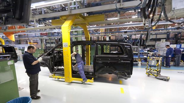 La planta de Mercedes-Benz en Vitoria