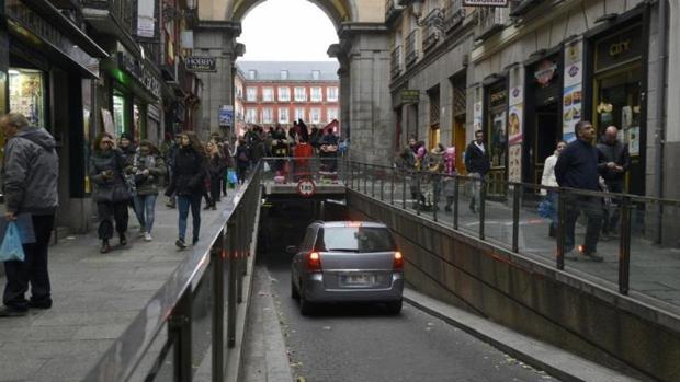 El parking de la Calle Mayor, situado en Madrid Central