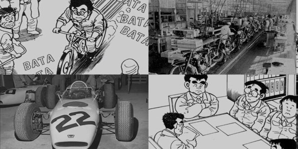 Honda Origins, la historia de Honda en un manga
