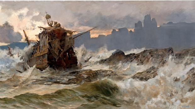 José Gartner de la Peña (1866-1918) pintó uno de los cuadros icónicos del «desastre», hoy matizado por la ciencia