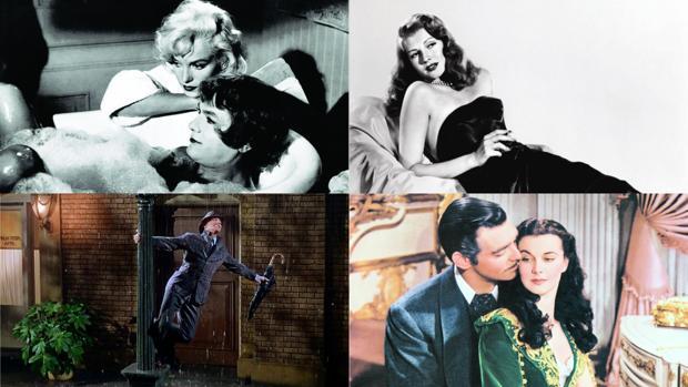 «Con faldas y a lo loco», «Cantando bajo la lluvia», «Gilda» y «Lo que el viento se llevó»