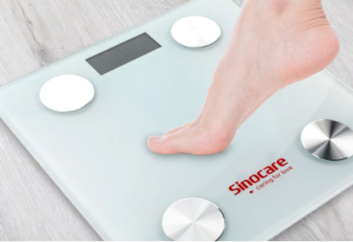 This scale allows a much more precise control of the evolution of weight and health in general.  / Aliexpress