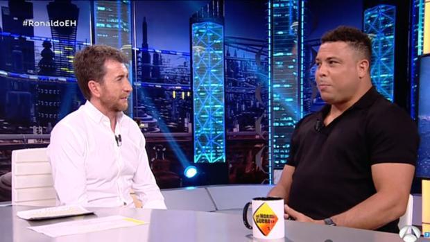 Ronaldo, en «El Hormiguero» de Pablo Motos