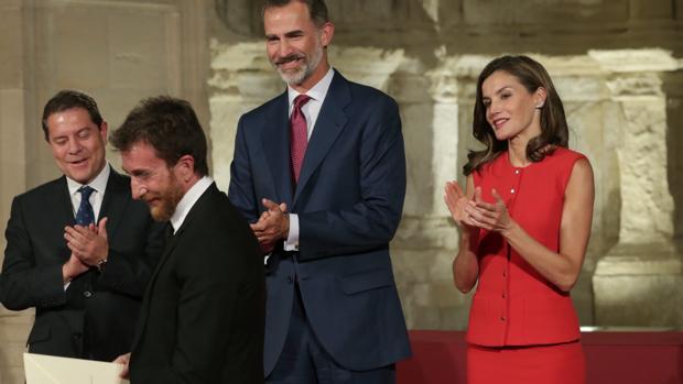 Pablo Motos recibió el pasado miércoles el Premio Nacional de Televisión 2016 de manos de los Reyes