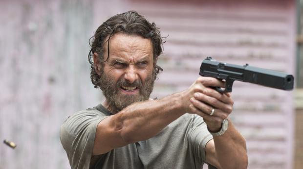 Andrew Licoln interpreta a Rick Grimes en «The Walking Dead»