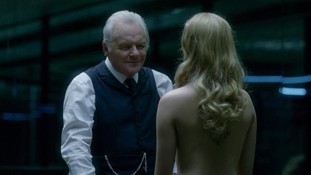 Anthony Hopkins y Evan Rachel Wood son dos de los rostros de referencia en «Westworld»