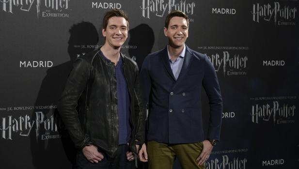 James y Oliver Phelps (los gemelos Weasley en Harry Potter)