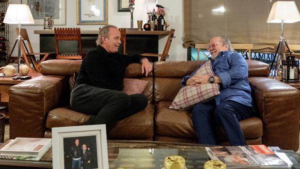 Bertín Osborne y Arévalo, en «Mi casa es la tuya»