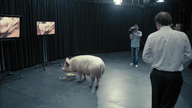 Una escena de The National Anthem, el primer capítulo de la primera temporada de Black Mirror