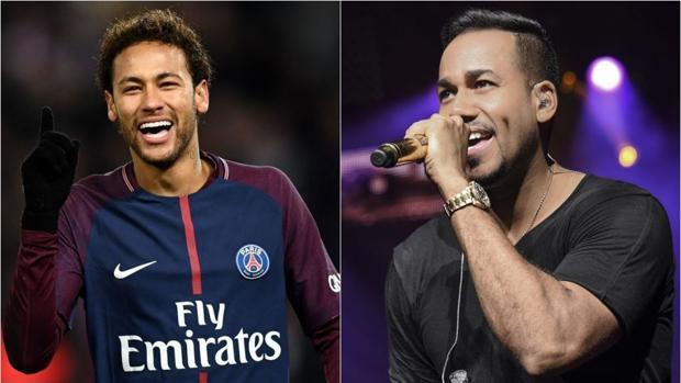 Neymar Jr y Romeo Santos, dos estrellas internacionales, están enganchados a una serie española