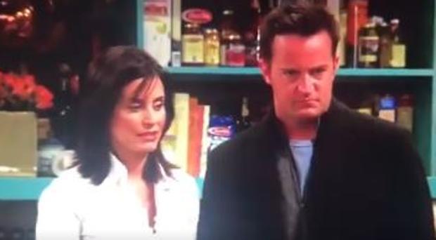 Mónica y Chandler en «Friends»