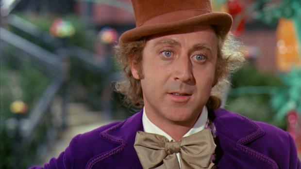 Gene Wilder, interpretando a Willy Wonka
