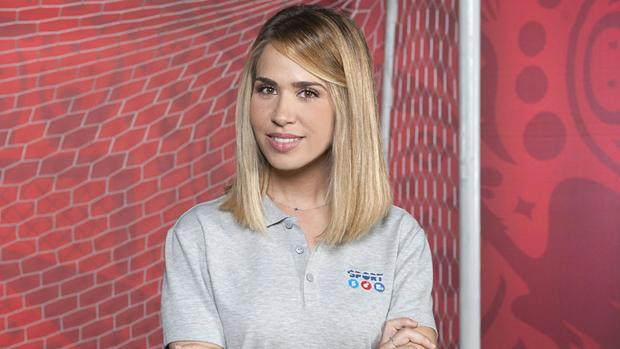 María Gómez, el rostro femenino de referencia de Mediaset en el Mundial