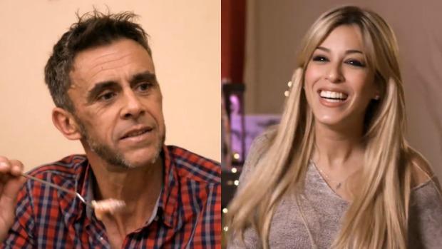 Alonso Caparrós y Oriana Marzoli en «Ven a cenar conmigo»