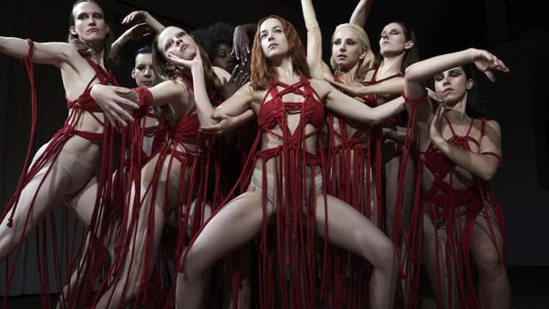 Escena de baile en Suspiria, un verdadero aquellare posmoderno