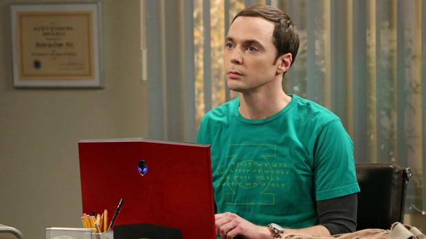 Sheldon, en «The Big Bang Theory»