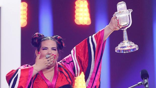 Netta consiguió el triunfo en Eurovisión 2018 con «Toy»