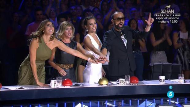 El jurado de «Got Talent»