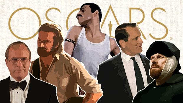Bale, Cooper, Rami Malek, Dafoe y Viggo Mortensen, los actores nominados al Oscar