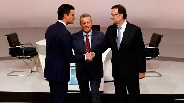 El último cara a cara entre Sánchez y Rajoy