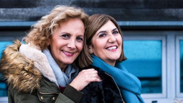 Elena Irureta y Ane Gabarain son las protagonistas de la serie