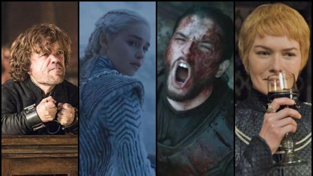Tyrion, Daenerys Targaryen, Jon Nieve y Cersei Lannister son algunos de los personajes clave de «Juego de Tronos»