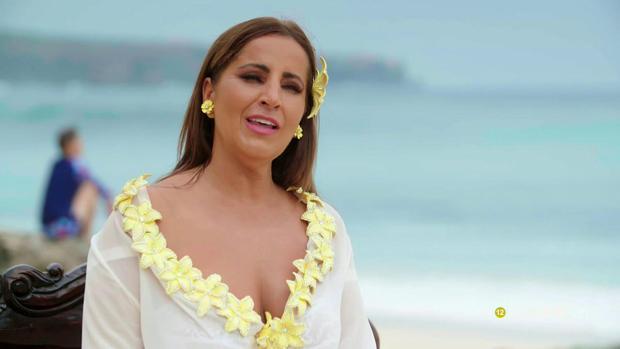 Raquel Salazar, en «Los Gipsy Kings»