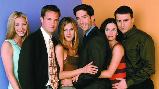 El reparto de «Friends», en una imagen de archivo