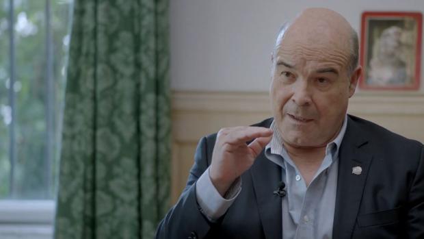 Antonio Resines, en un momento de «Historias de nuestro cine»
