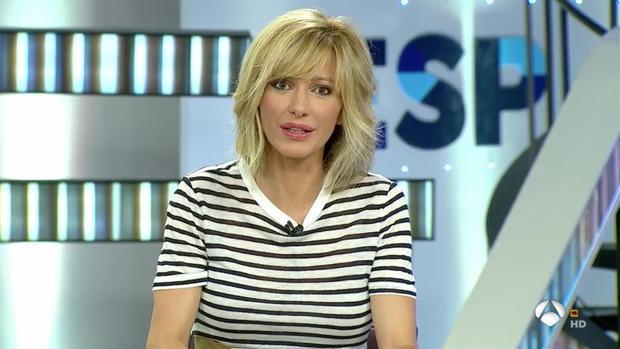 Susanna Griso, presentadora de «Espejo Público»