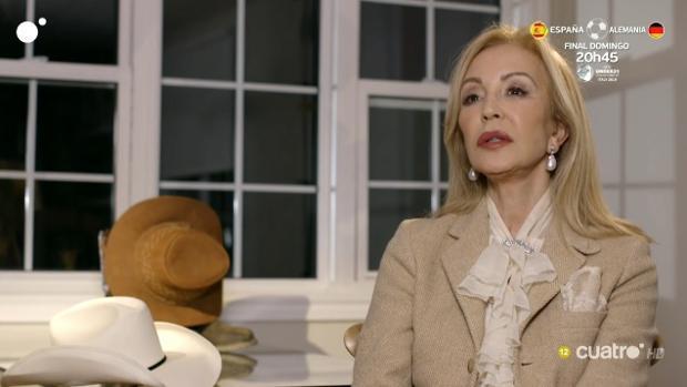 Carmen Lomana, este viernes en «Ven a cenar conmigo: Gourmet edition»
