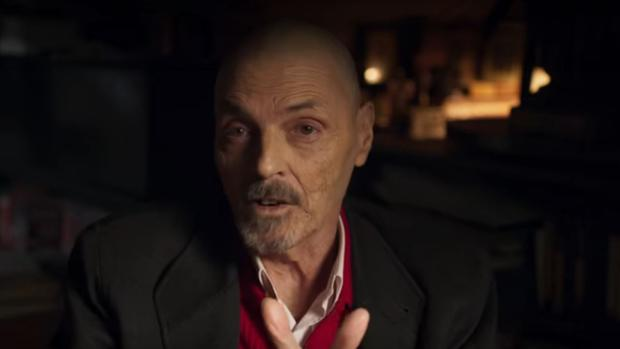 Blanco, durante su entrevista para el documental emitido por Netflix