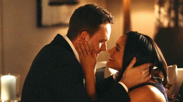 Mike y Rachel en «Suits»
