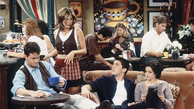 Fotograma de «Friends» una de las mejores series cómicas de todos los tiempos