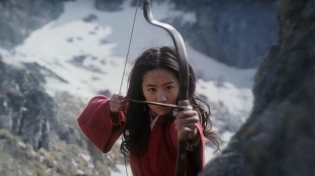 Imagen de la película de acción real de Mulán