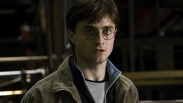 Daniel Radcliffe en una escena de una de las películas de «Harry Potter»