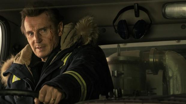 Liam Neeson en «Venganza bajo cero»