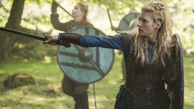 Lagertha, en «Vikingos»