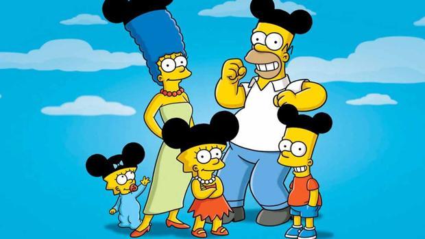 «Los Simpson» tras ser adquiridos por Disney