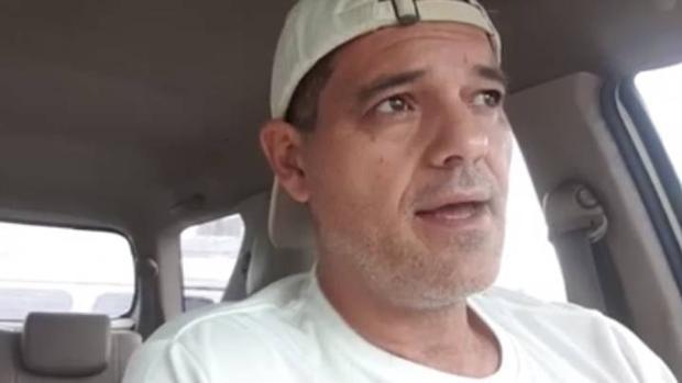 Imagen fija del vídeo de Frank Cuesta en el que expresa su opiníon con respecto al Amazonas y Gran Canarias
