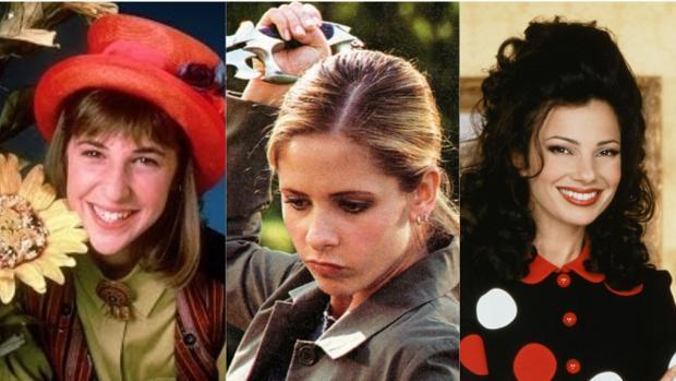 «Blossom», «Buffy, Cazavampiros» y «La niñera»