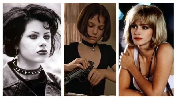 Nancy de «Jovenes y Brujas», Mathilda de «El profesional» y Vivian de «Pretty Woman»