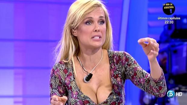 Miriam Sánchez como colaboradora de «Mujeres y hombres y viceversa»