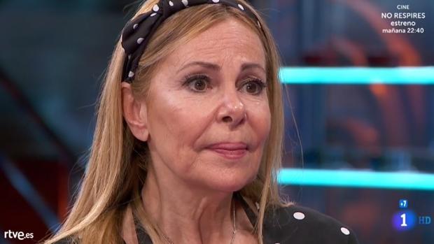 Ana Obregón, eliminada en «MasterChef Celebrity»