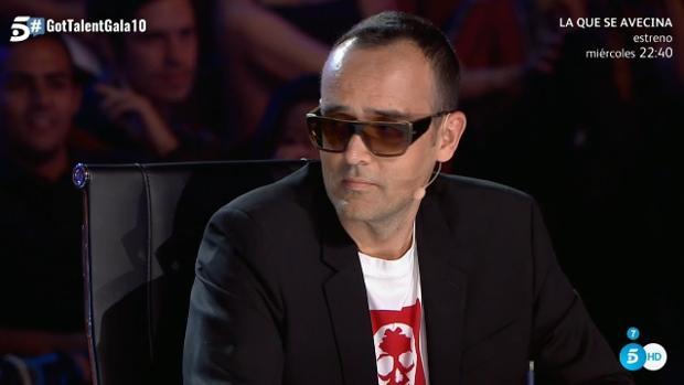 Risto Mejide, este lunes en «Got Talent»