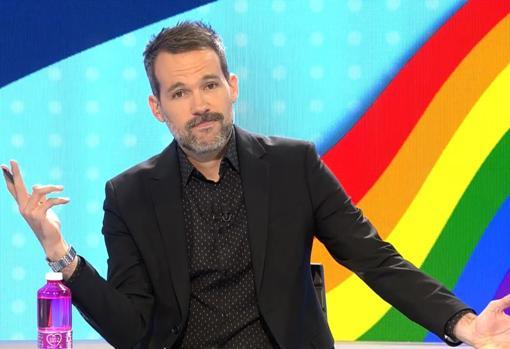 Javier Gómez, el pasado viernes, en «Todo es mentira», el programa de humor y actualidad de Cuatro