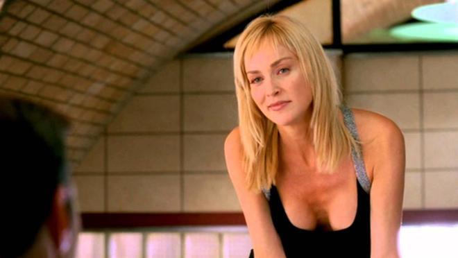 Sharon Stone, en la fallida «Instinto básico 2»