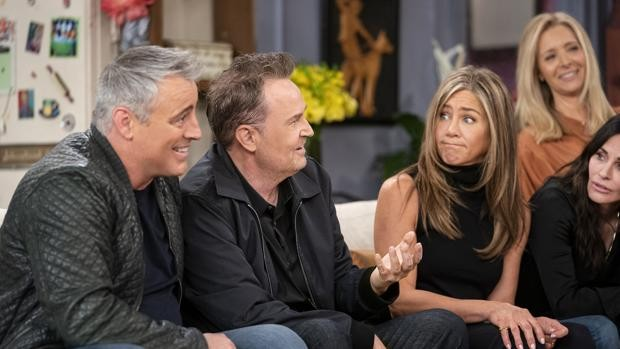 The cast of 'Friends' reunited in the special that HBO premieres this Thursday