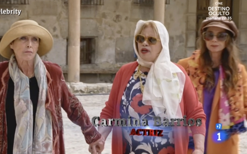 Verónica Forqué, Carmina Barrios and Victoria Abril, 'The Golden Girls' from 'MasterChef Celebrity'