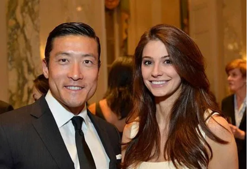 El doctor Han Jo Kim y su mujer